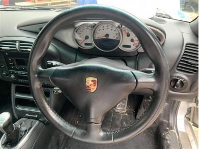 Porsche Boxster Three Spoke Steering Wheel & Airbag 1996 - 2004 Year Sports