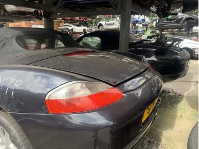 Porsche PORSCHE BOXSTER 986 POP UP SPOILER ATLAS GREY S7 MTP JJ