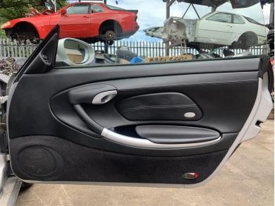Porsche Boxster 986 Door Cards With Speakers Black 1996 - 2004 Year