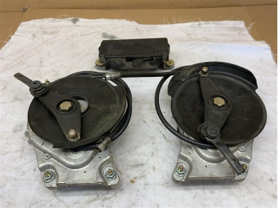 Porsche Boxster Cabriolet Roof Motor & Gearboxes MK1 1996 - 1999 Year Aluminium