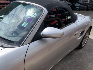Porsche Boxster Door Mirror UK Passenger Side Left Side Arctic Silver Metallic N11DHW
