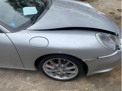 Porsche Boxster Front Wing Right Side Arctic Silver Metallic 1996 - 2004 N11DHW RH