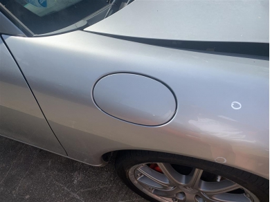 Porsche Boxster Fuel Filler Flap With Hinge Arctic Silver Metallic N11DHW