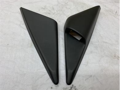 Porsche Boxster Interior Mirror Trims Covers Mirror Switch Plinth Holder Black L & R