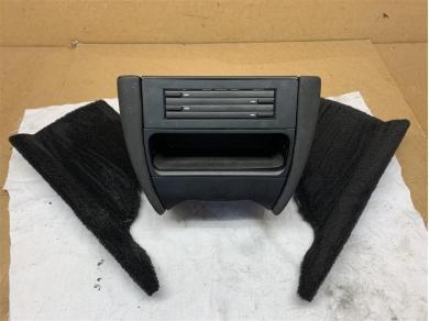 Porsche Boxster Center Console Lower In Black PVC MK1 1996 - 1999 Year