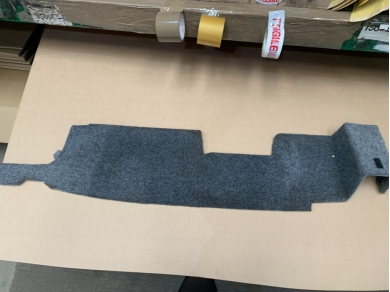 TVR CHIMAERA REAR CARPET PANEL CHIMAERA INTERIOR PARTS WITH CUT OUT JJ