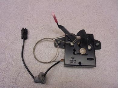 Porsche Boxster Bonnet Lock Mechanism Porsche Boxster 986 Bonnet Release 99651105301 Steve Odd Bits 1