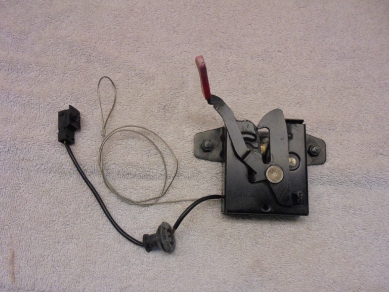 Porsche Boxster Bonnet Lock Mechanism Porsche Boxster 986 Bonnet Release 99651105302 Steve Odd Bits 1