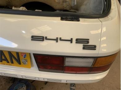 Porsche 944S2 Badge Porsche 944 S2 Decal Porsche 944S2 Badges Decals 1989
