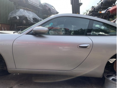 Porsche Boxster Door Porsche 996 Door Porsche 986 Boor Shell Arctic Silver Left Side N/S