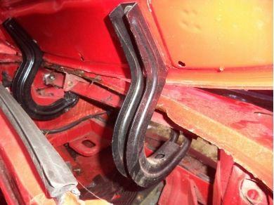 Opel OPEL GT BONNET HINGES 1969 OPEL GT BONNET HINGES MTMT