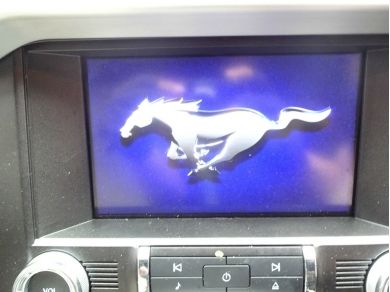 Audi 2016 Ford Mustang GT Shaker Audio System Ford Mustang GT Infotainment System