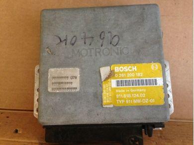 Bosch 964 3.6 Engine ECU 911.618.124.02 Bosch Motronic 0.261.200.182 964 3.6 C2 Man