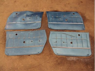Chevrolet Front and Rear Door Cards Remover From a 1967 Chevrolet Corvair