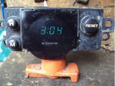 Nissan Skyline R33 GTS 1996 Digital Time Clock SW