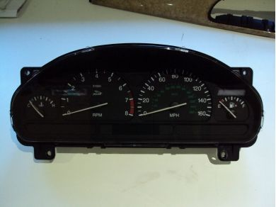 Jaguar JAGUAR S TYPE INSTRUMENT CLOCK SET XR8F - 10849 Y831YEV