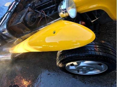 Unbranded Kit Car - Robin Hood westfield wing fiberglass yellow off side x1