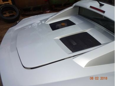 Opel VAUXHALL VX220 ENGINE LID VX220 ENGINE COVER OPEL SPEEDSTER ENGINE LID BC03CTU