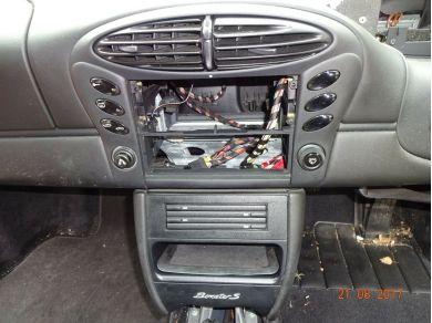 Volkswagen PORSCHE BOXSTER 986 DASHBOARD CONSOLE PORSCHE BOXSTER SWITCH SURROUND T23DVW