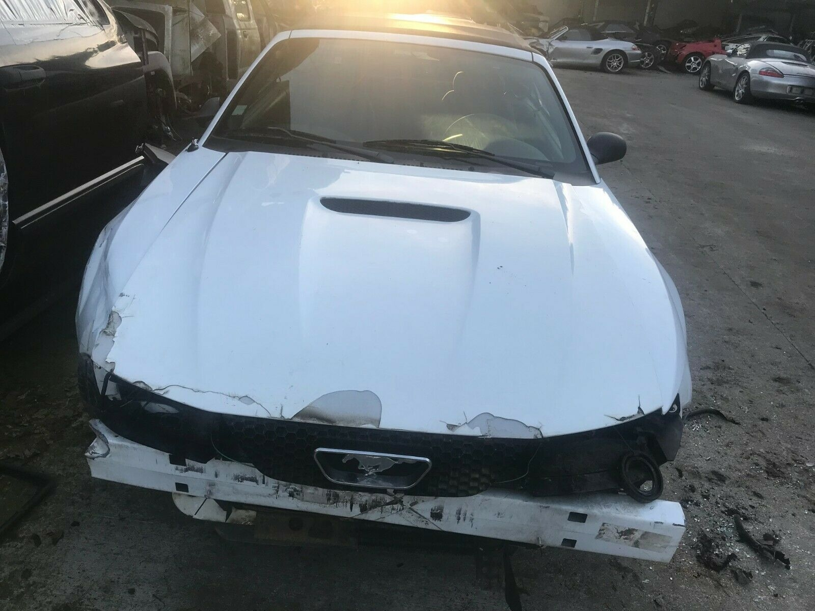 Ford mustang sn95 hood ford mustang bonnet 99 04 bonnet scoop mustang x843obk